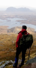 View from Stac Pollaidh to Suilven - NW Scotland