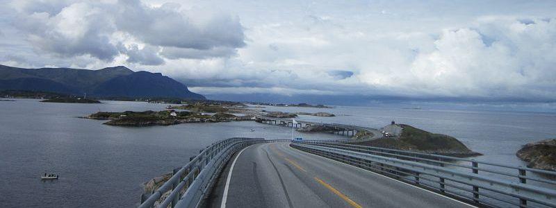 Norway Atlantic Ocean Road Cycle Picture 1