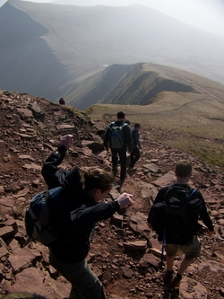 Tenovus South Wales 3 Peaks Picture 2