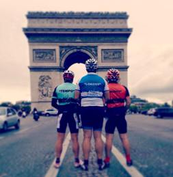 Frankfurt to Paris Enduro Cycle Challenge Picture 2