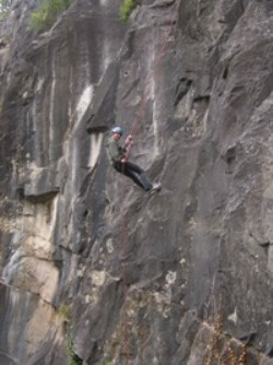 Symonds Yat Abseil Picture 2