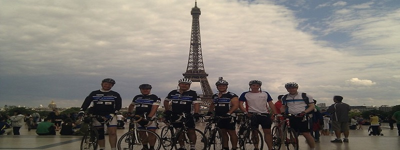 Cycle Jersey to Paris 3 day  Picture 1
