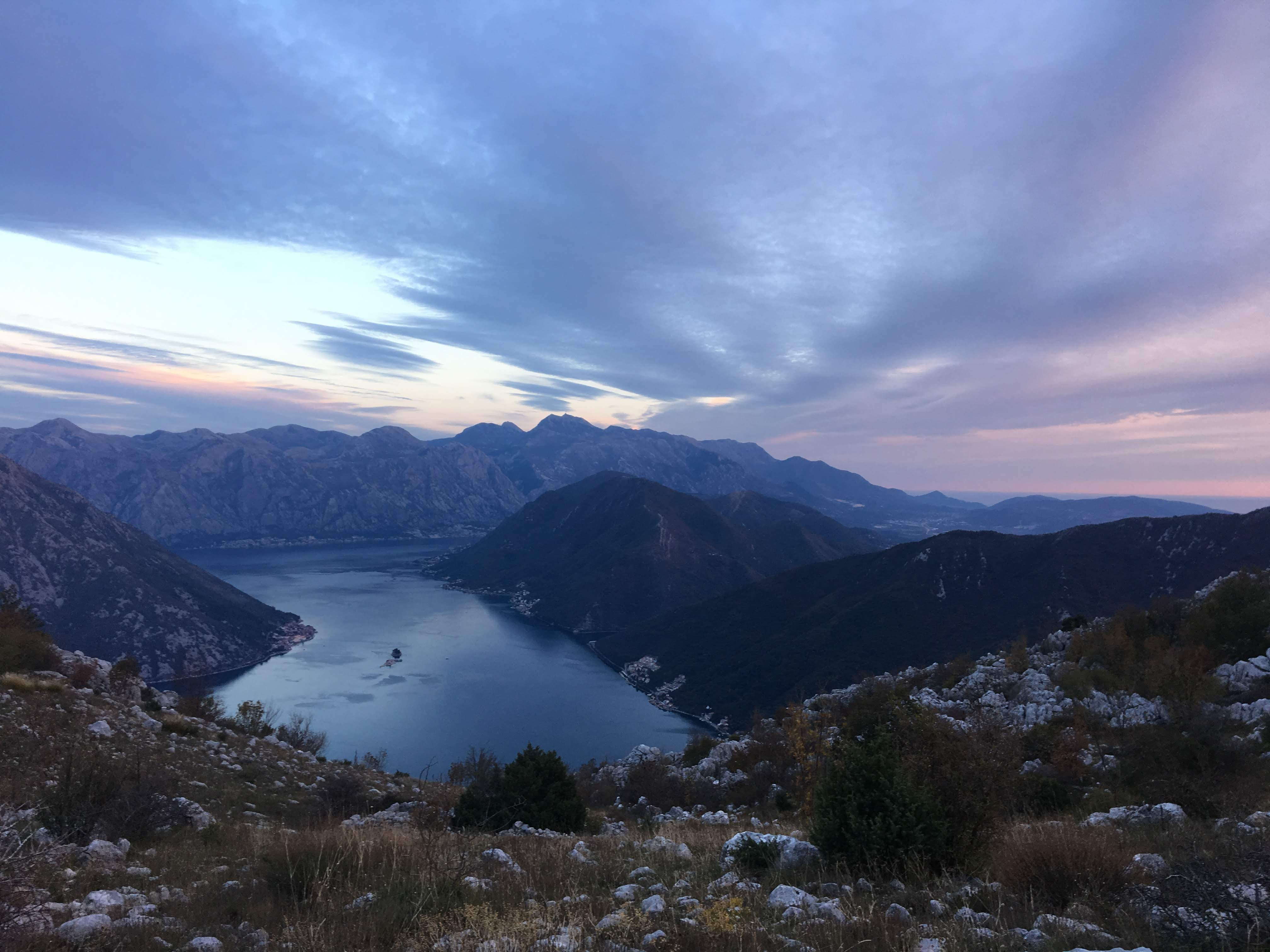 On the fringes of The Dinaric Alps in Montenegro, we'll explore the limestone mountains that overlook the inlet of the Adriatic Sea.