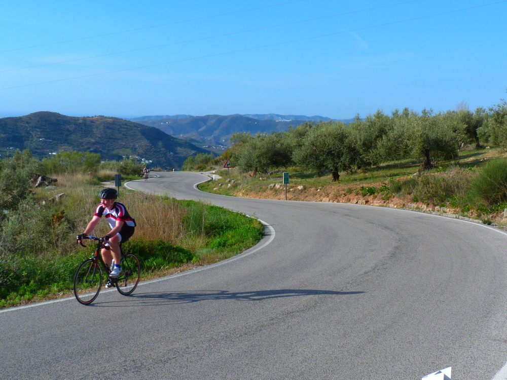 A scorching ride through southern spain